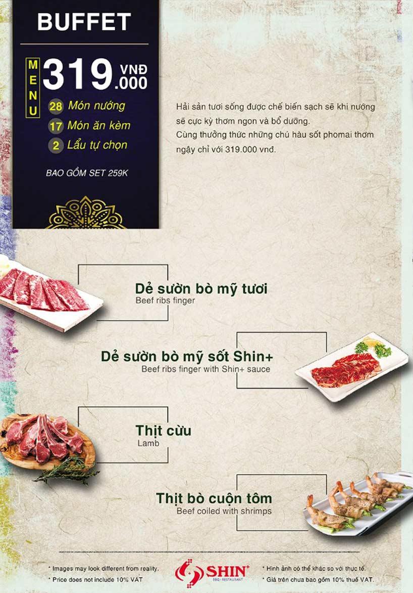 Menu Shin+ BBQ - Tố Hữu   5