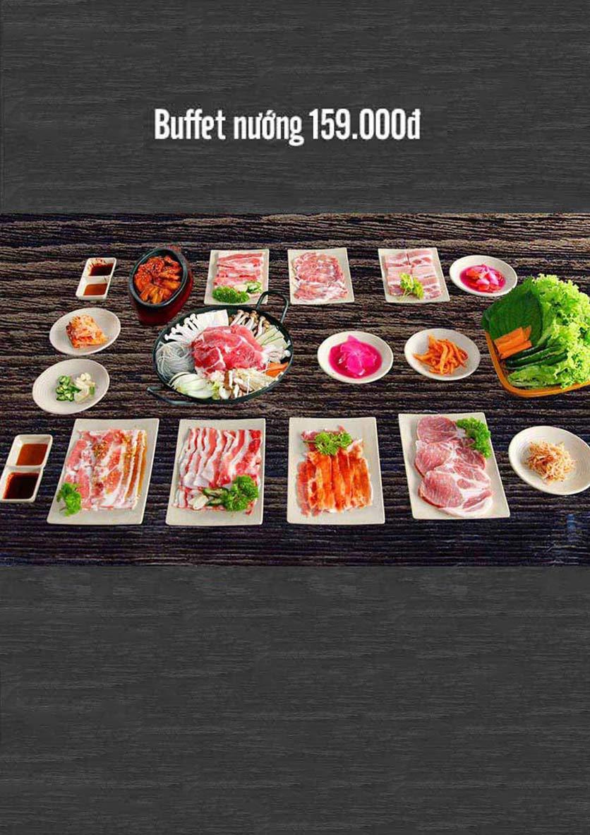 Menu Sinry Bulgogi - Triều Khúc     2