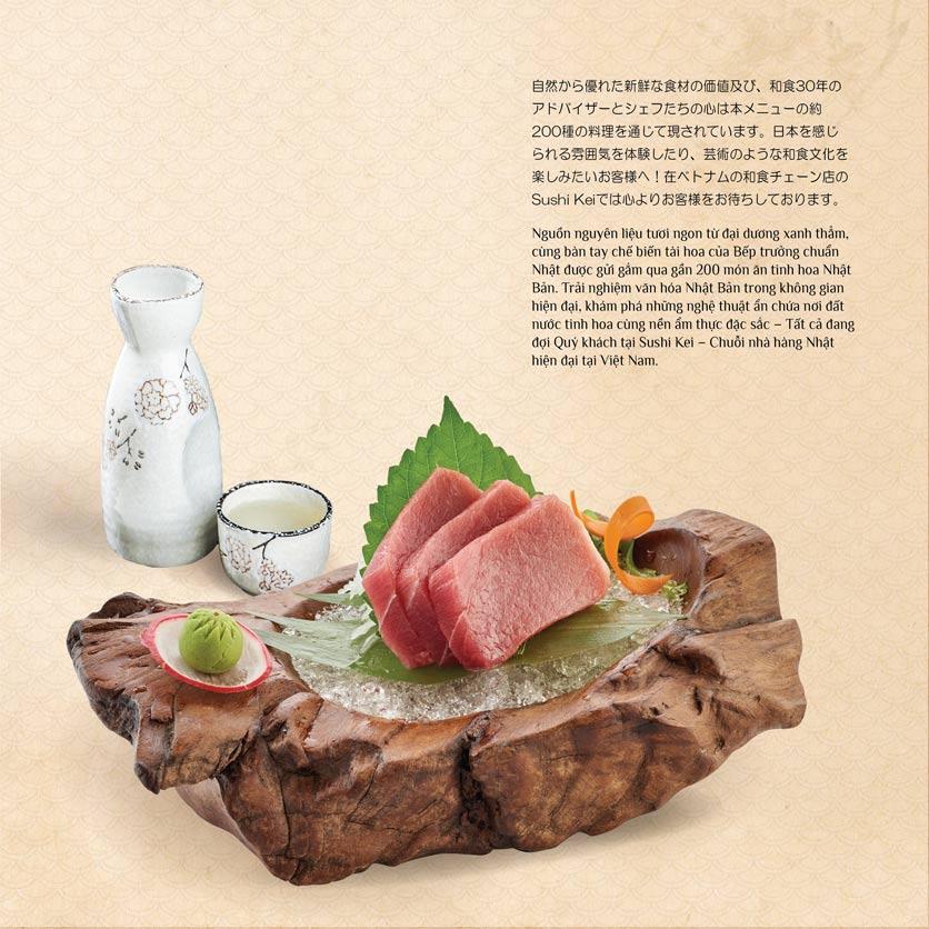 Menu Sushi Kei – Nguyễn Chí Thanh  1