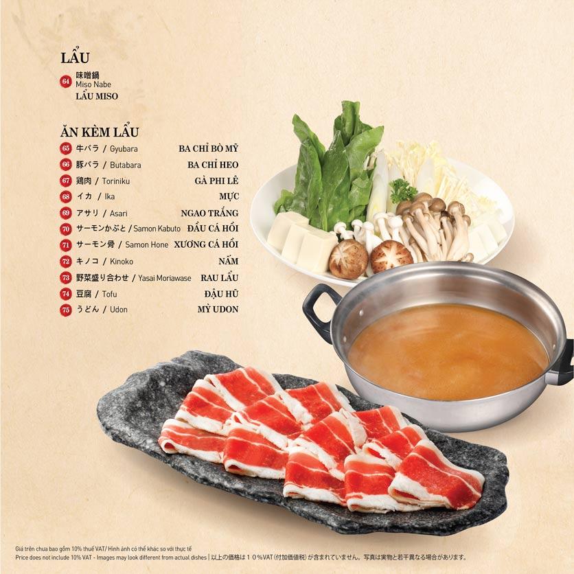 Menu Sushi Kei – Nguyễn Chí Thanh  10