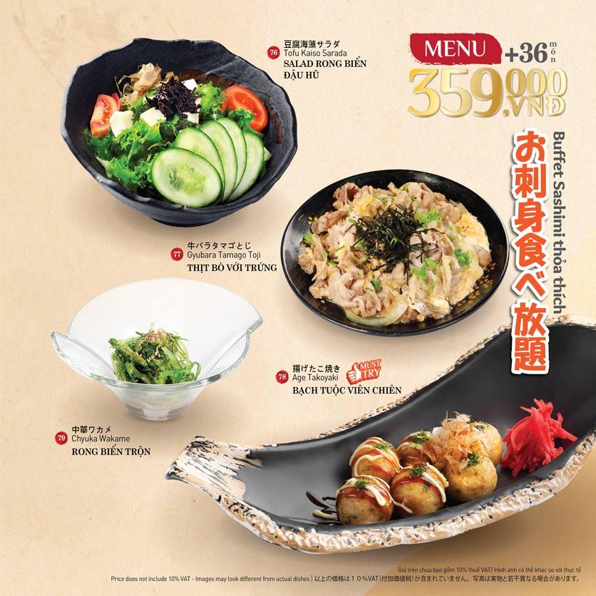Menu Sushi Kei – Nguyễn Chí Thanh  11