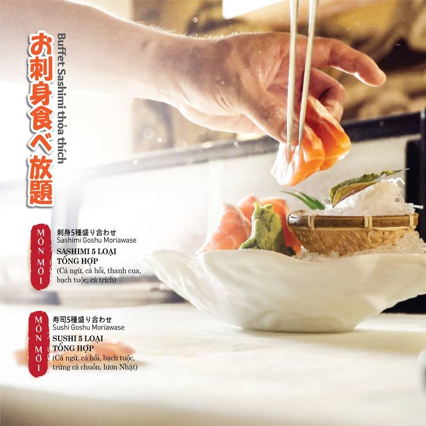 Menu Sushi Kei - The Artemis 12