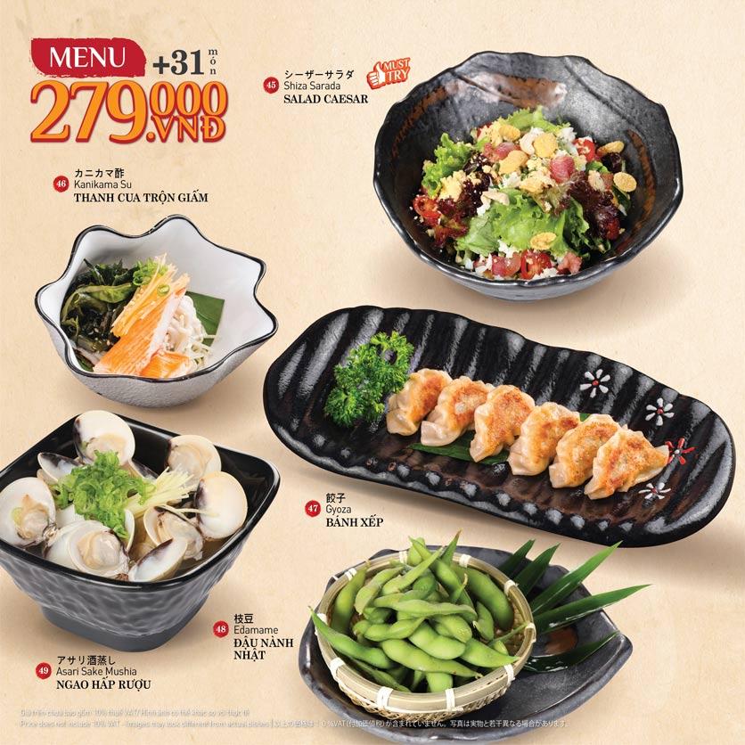 Menu Sushi Kei – Nguyễn Chí Thanh  6