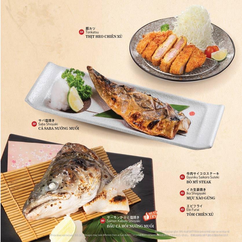 Menu Sushi Kei – Nguyễn Chí Thanh  9