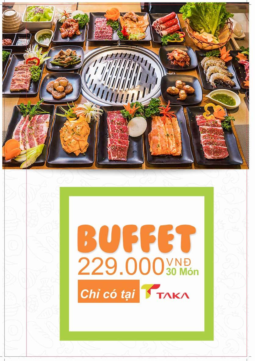 Menu Taka BBQ - Nguyễn Tri Phương 1
