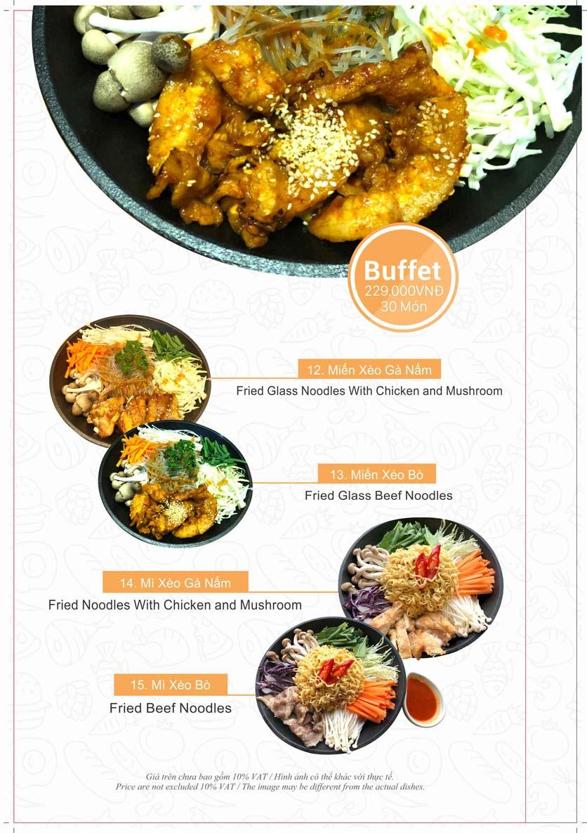 Menu Taka BBQ - Nguyễn Tri Phương 4