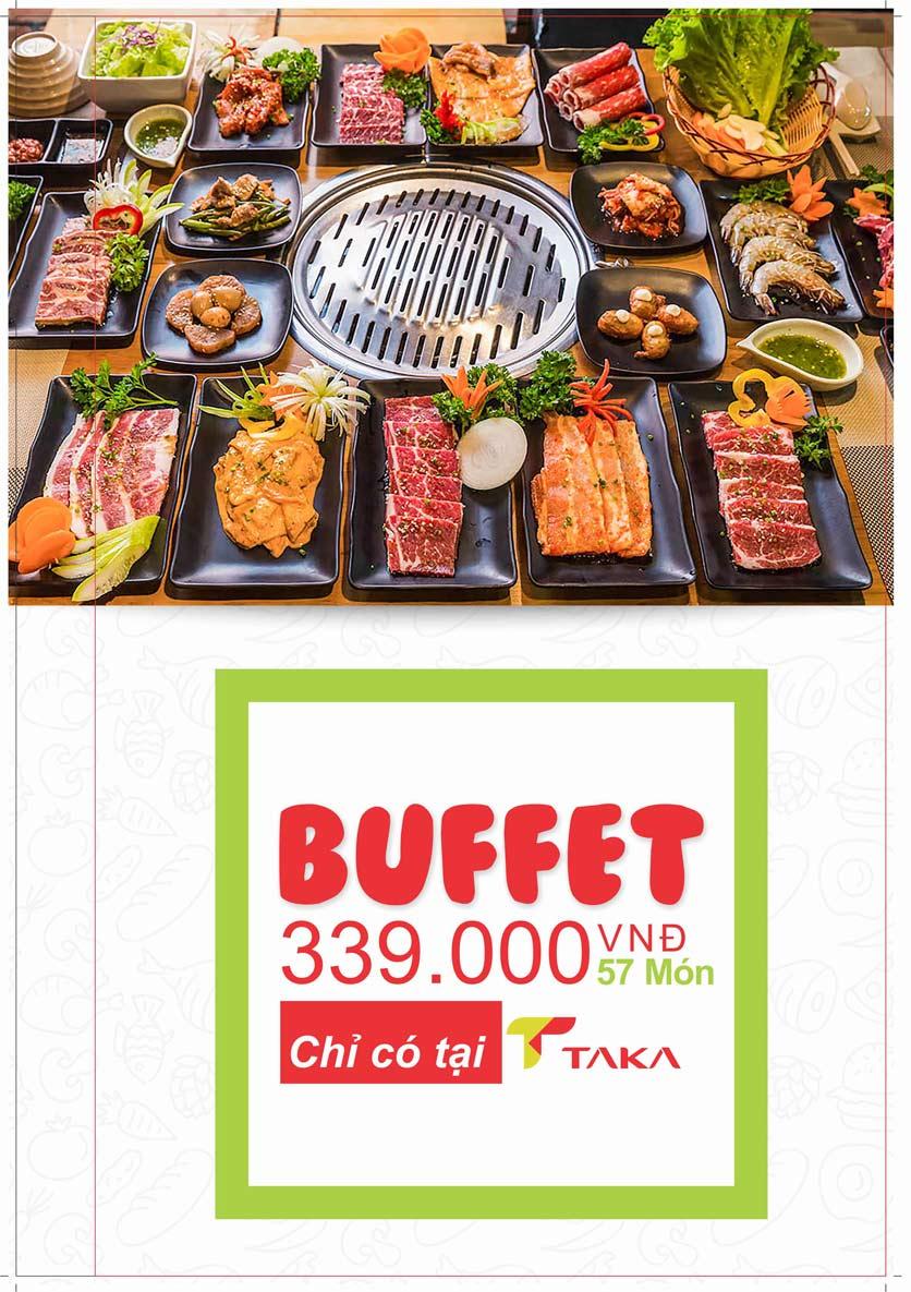 Menu Taka BBQ - Nguyễn Tri Phương 9