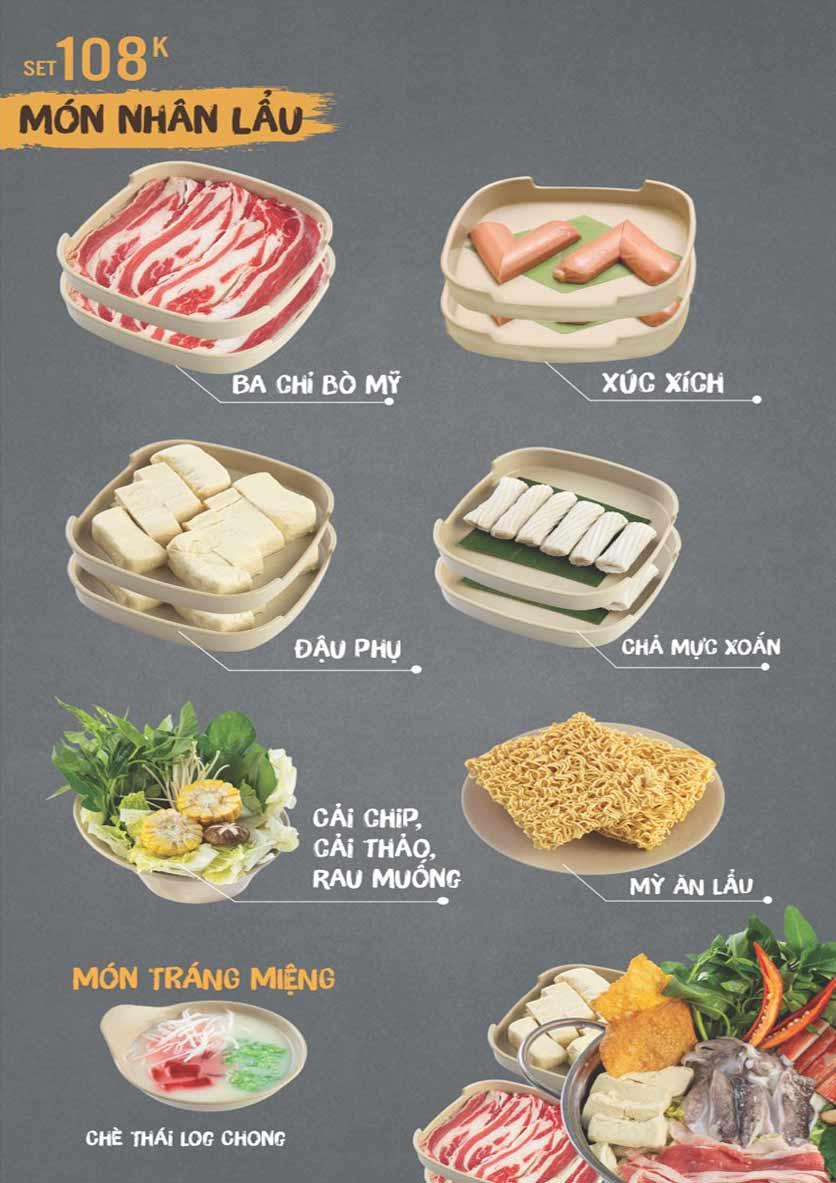 Menu Thai Deli - Buffet Lẩu Thái - Hàm Nghi 2