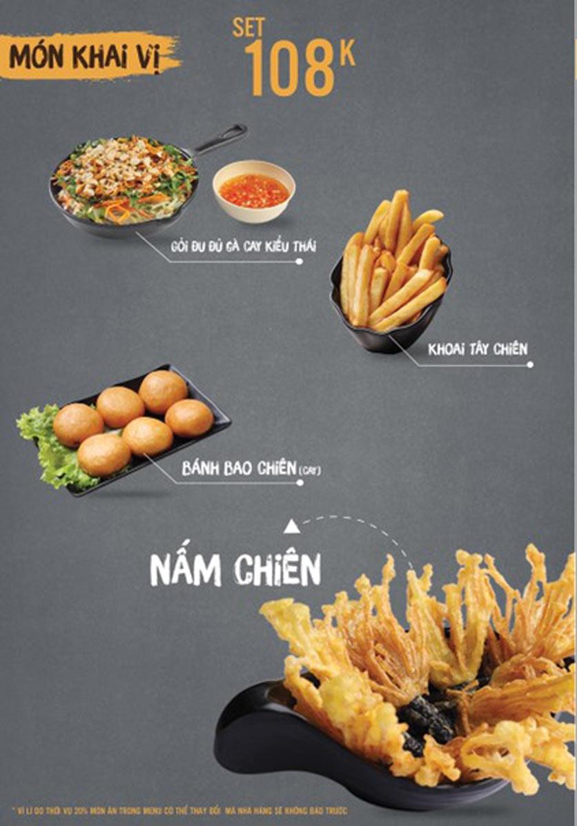 Menu Thai Deli - Buffet Lẩu Thái - Quan Hoa    1