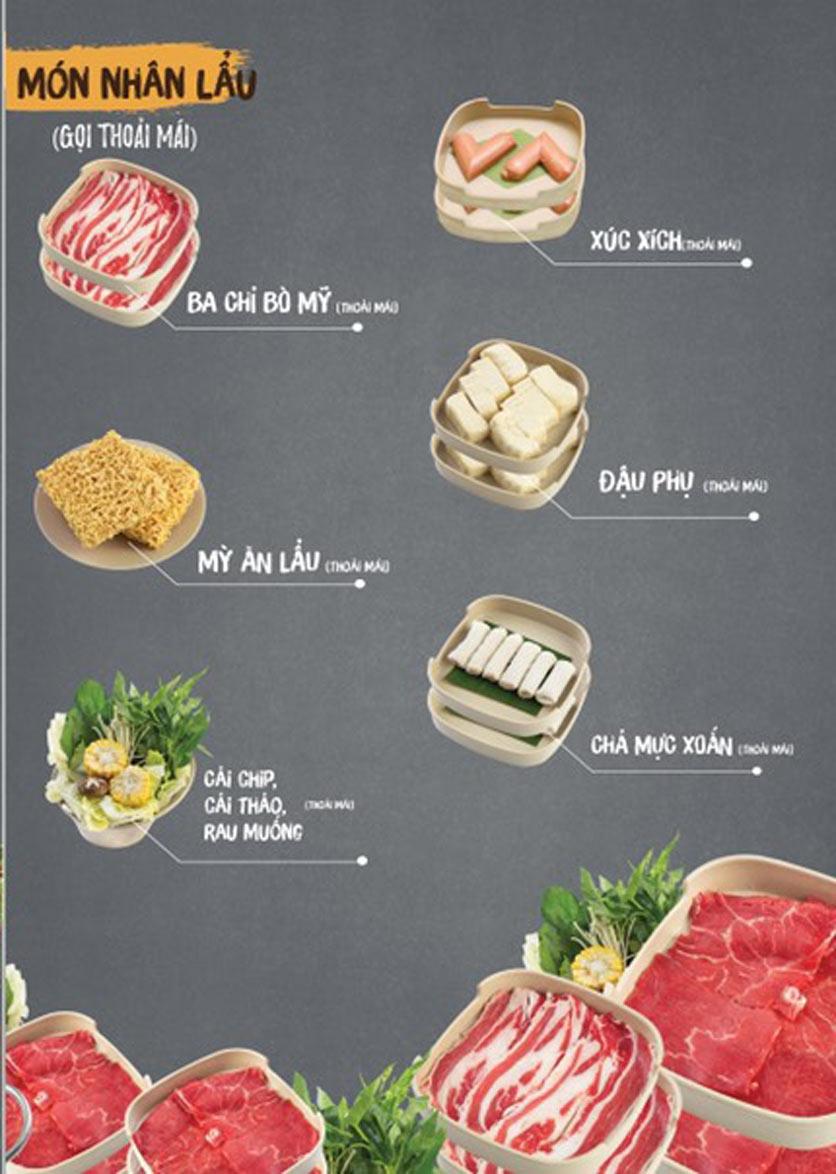 Menu Thai Deli - Buffet Lẩu Thái - Quan Hoa    3