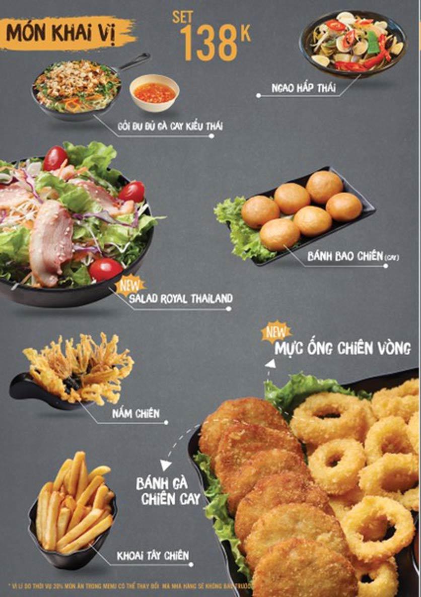 Menu Thai Deli - Buffet Lẩu Thái - Quan Hoa    4