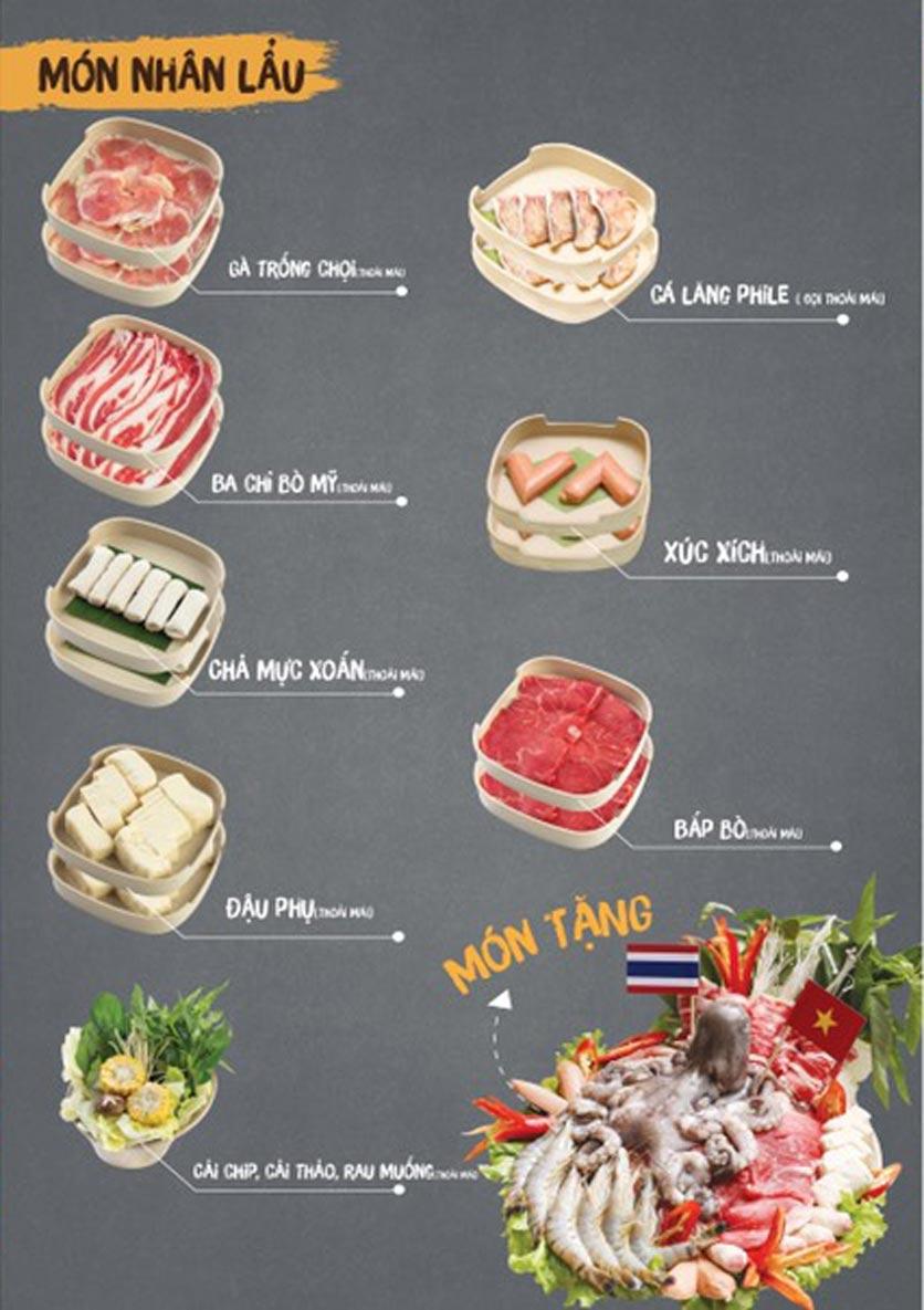 Menu Thai Deli - Buffet Lẩu Thái - Quan Hoa    5