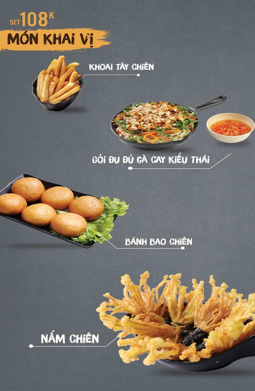 Menu Thai Deli - Buffet Lẩu Thái - Vũ Ngọc Phan 1