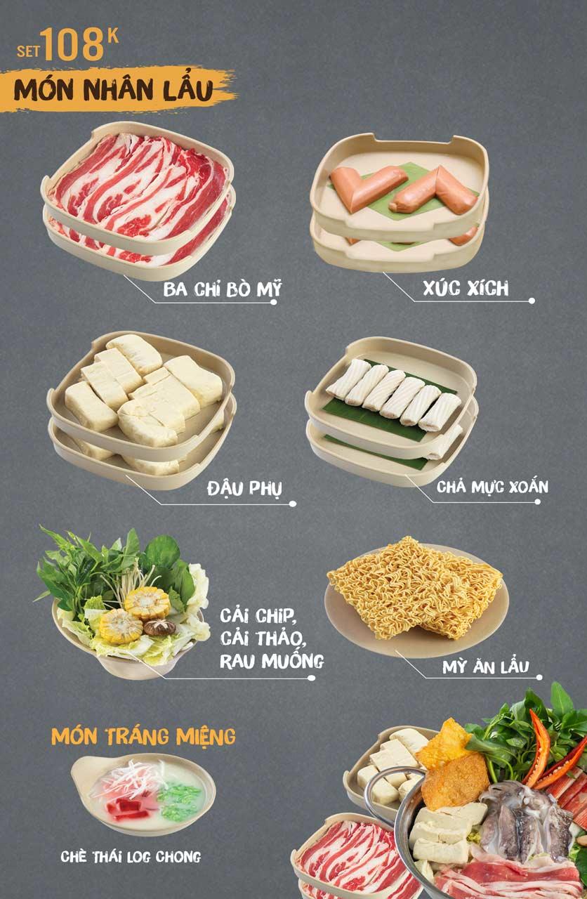 Menu Thai Deli - Buffet Lẩu Thái - Vũ Ngọc Phan 2