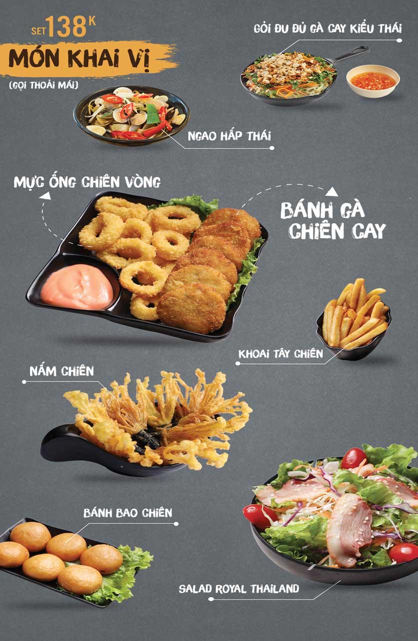 Menu Thai Deli - Buffet Lẩu Thái - Vũ Ngọc Phan 3