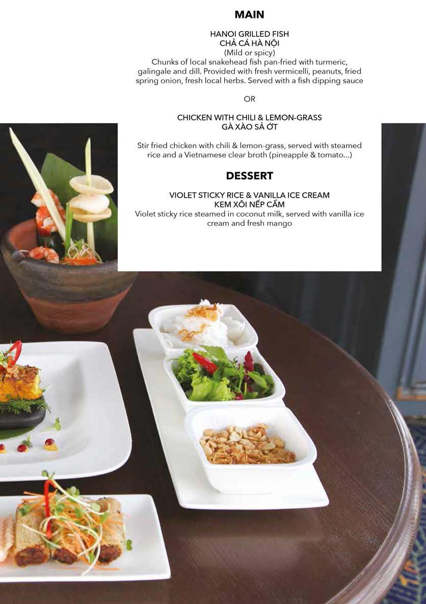 Menu The Gourmet Corner - Lò Sũ 5