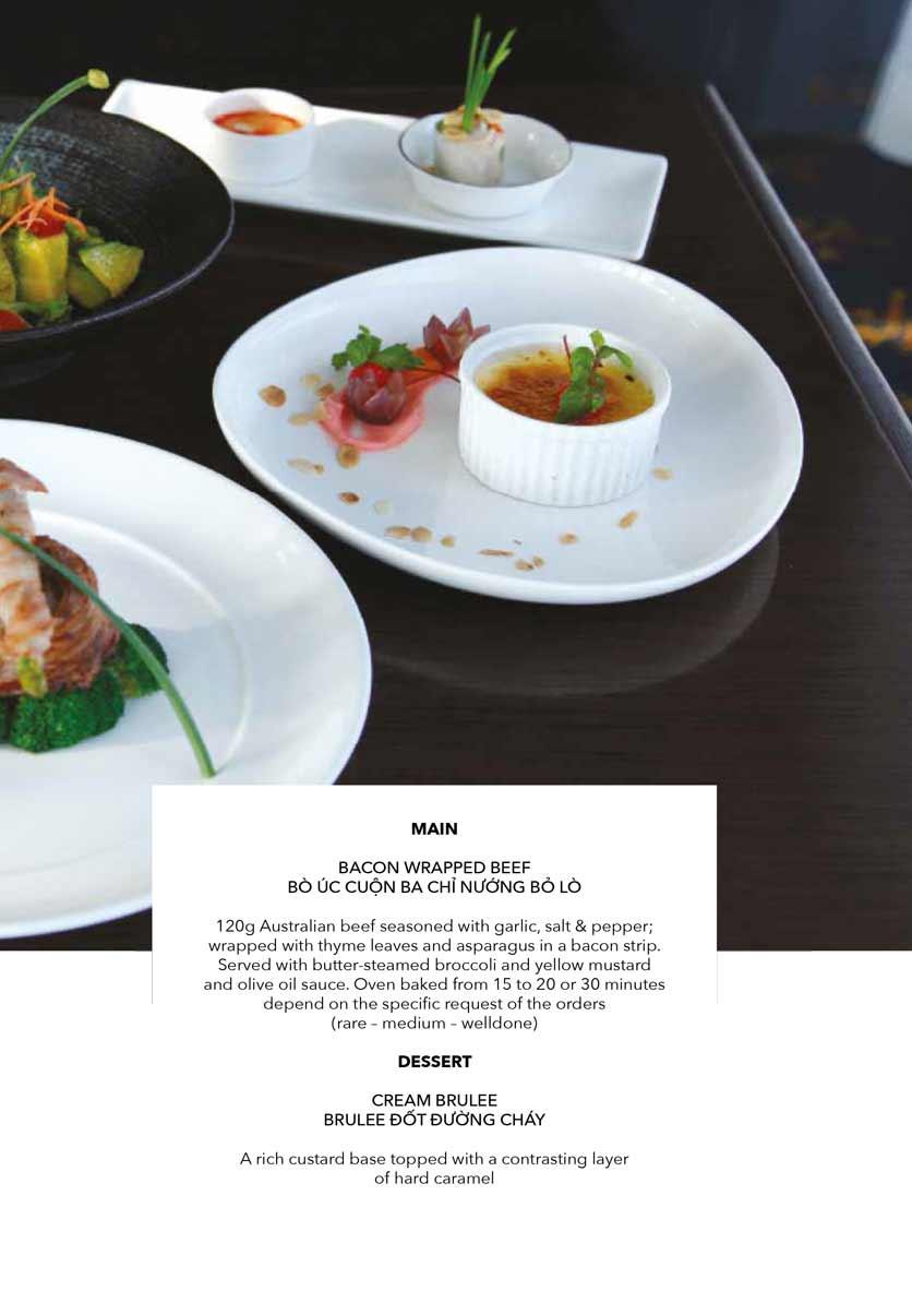 Menu The Gourmet Corner - Lò Sũ 7