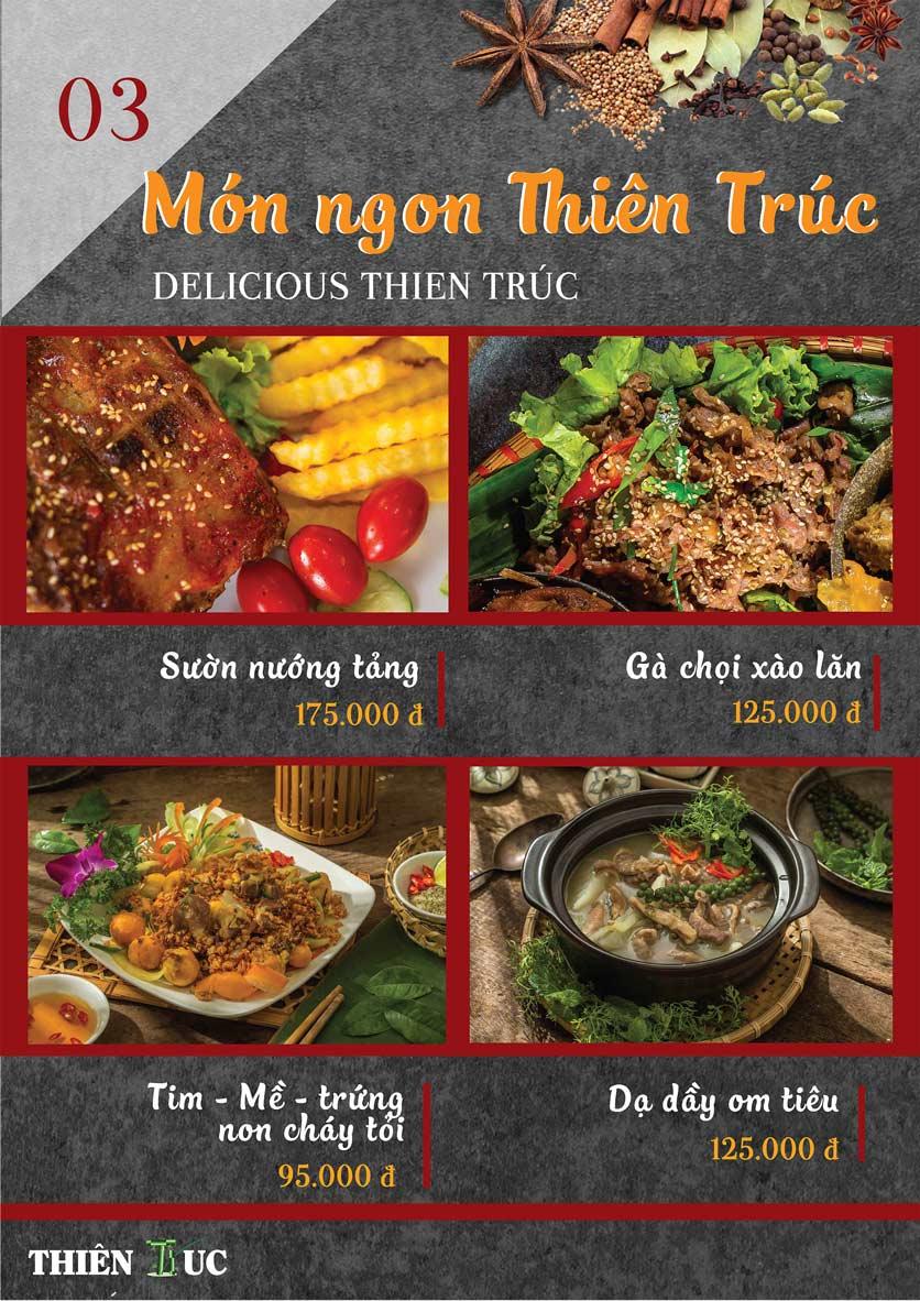 Menu Thiên Trúc - Nguyễn Trãi  9