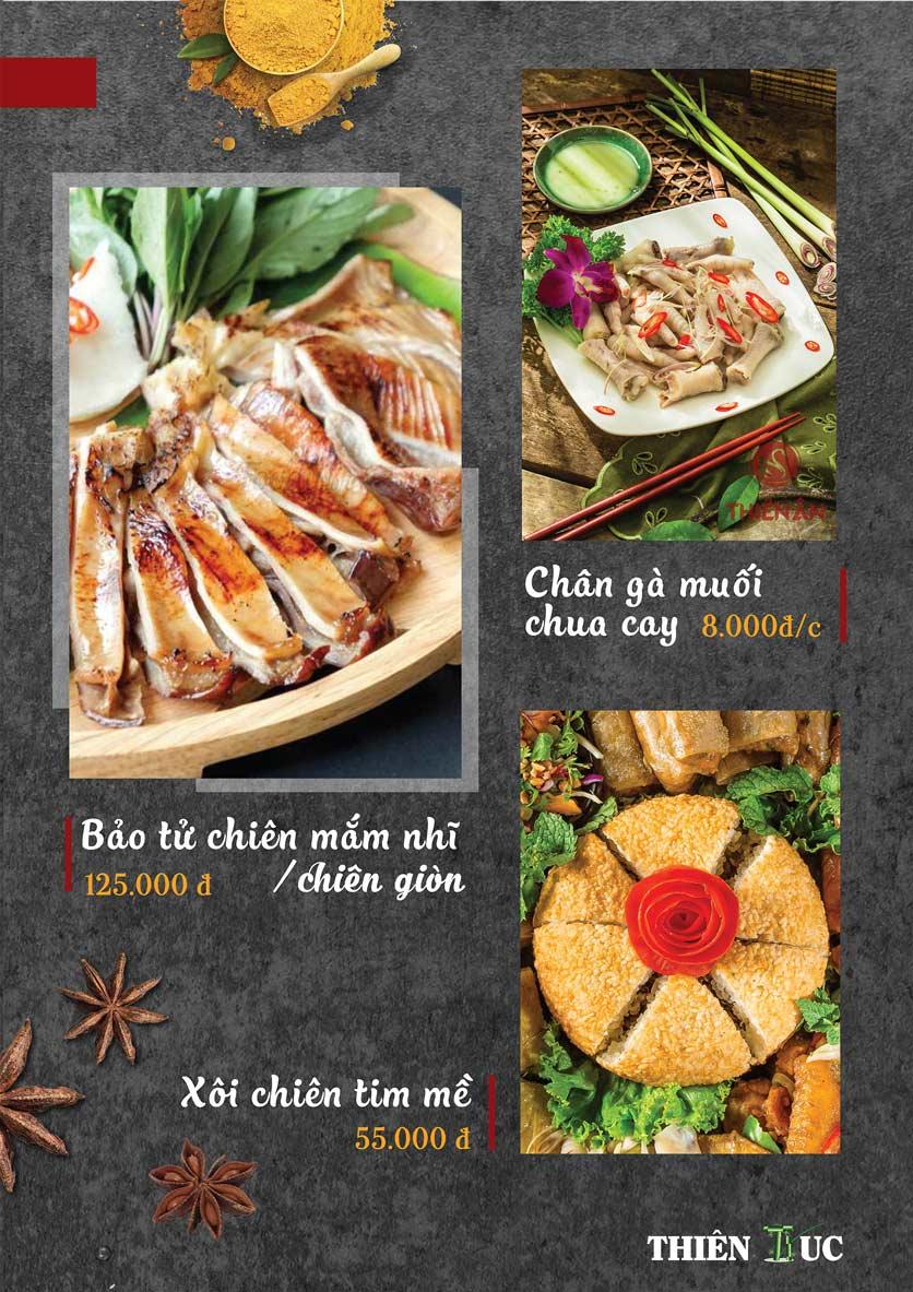 Menu Thiên Trúc - Nguyễn Trãi  11