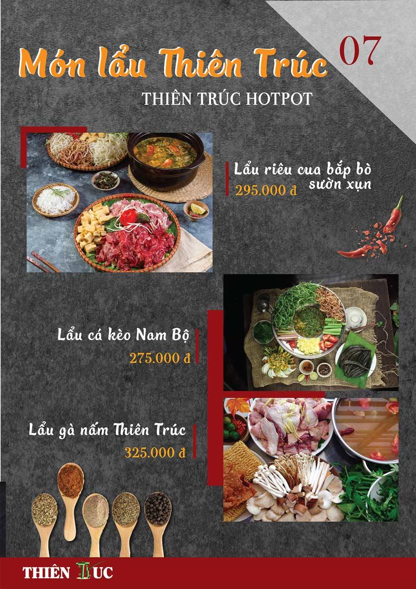 Menu Thiên Trúc - Nguyễn Trãi  14