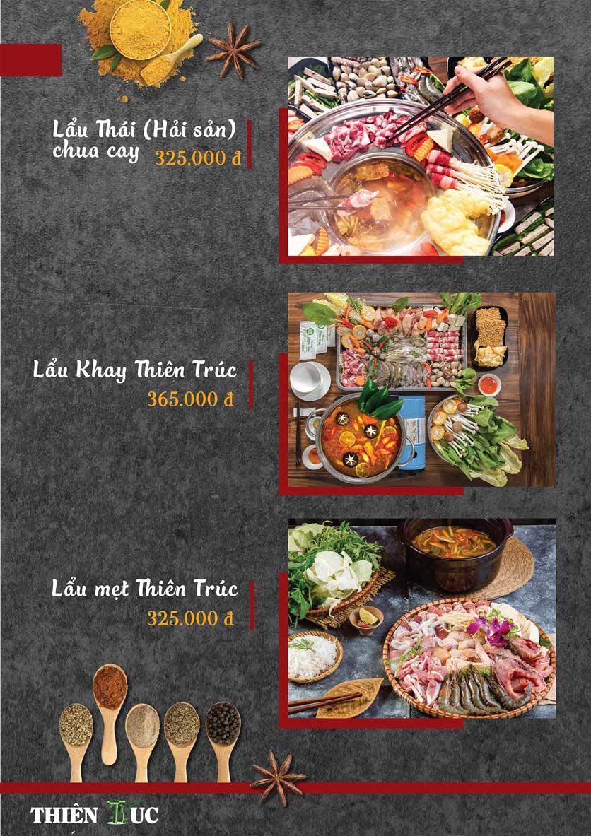 Menu Thiên Trúc - Nguyễn Trãi  15