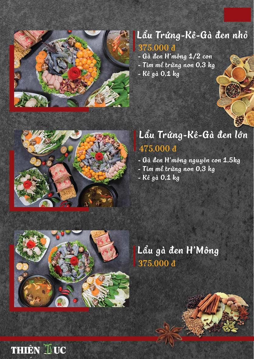 Menu Thiên Trúc - Nguyễn Trãi  16