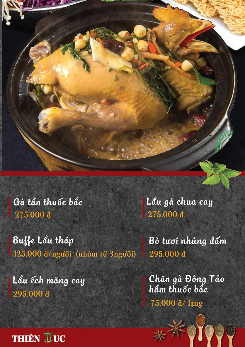Menu Thiên Trúc - Nguyễn Trãi  17
