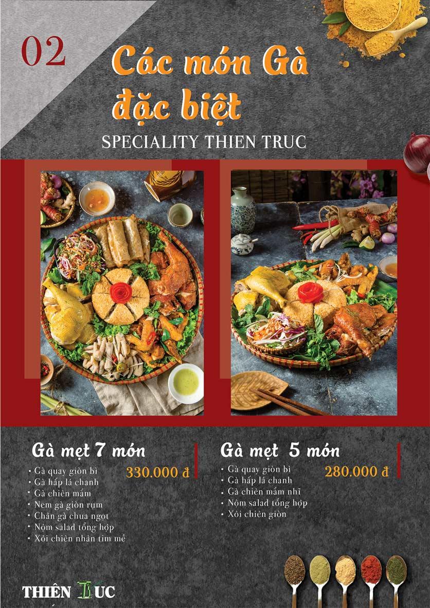 Menu Thiên Trúc - Nguyễn Trãi  2