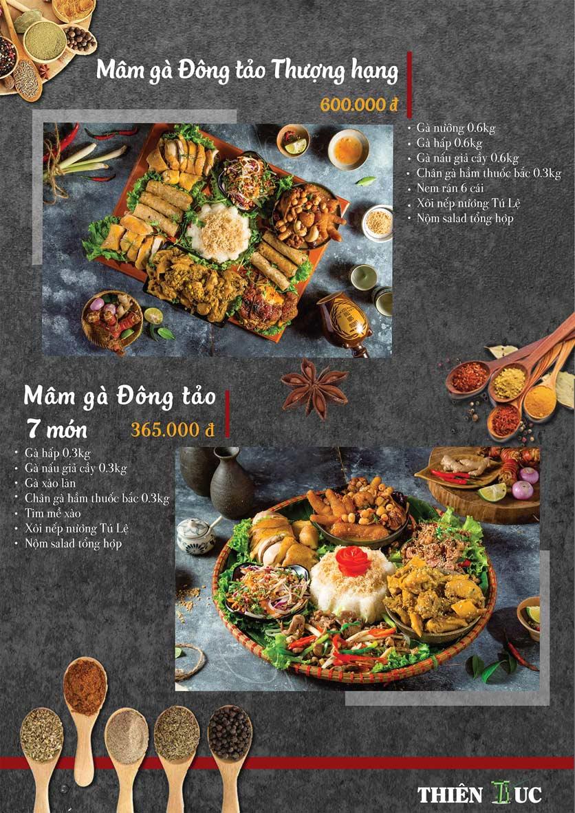 Menu Thiên Trúc - Nguyễn Trãi  4