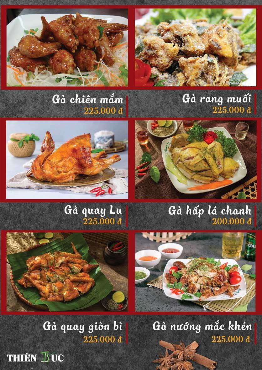Menu Thiên Trúc - Nguyễn Trãi  6