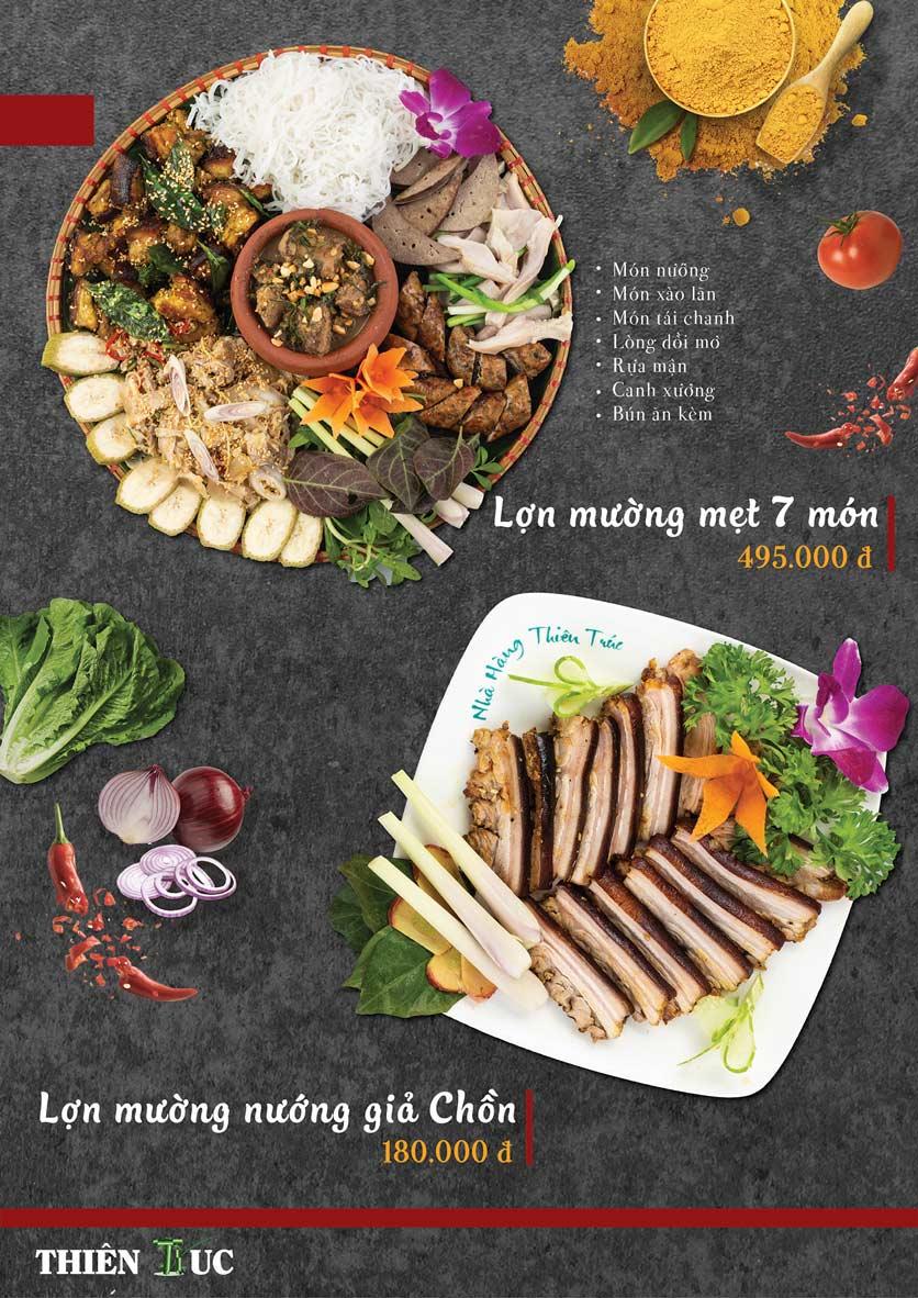 Menu Thiên Trúc - Nguyễn Trãi  7