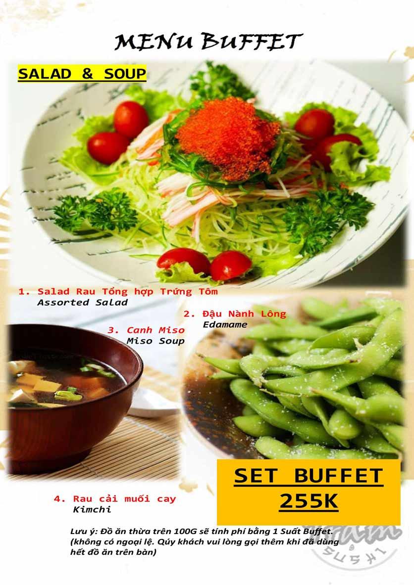 Menu Trạm Sushi - Trần Quang Diệu 1