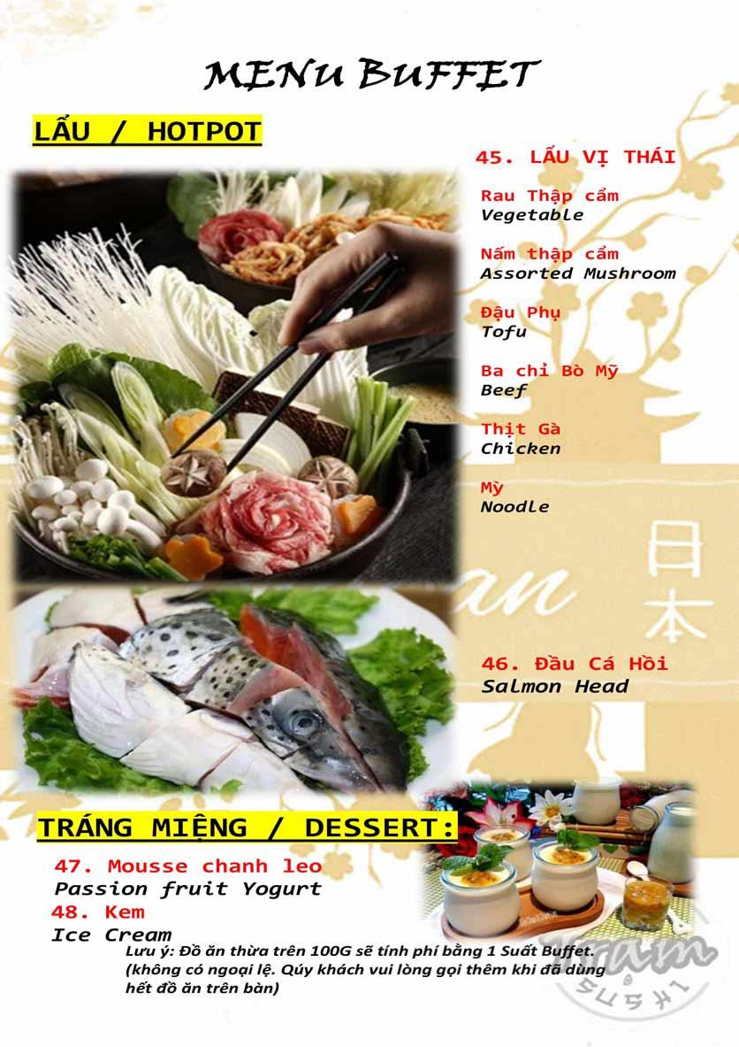 Menu Trạm Sushi - Trần Quang Diệu 11