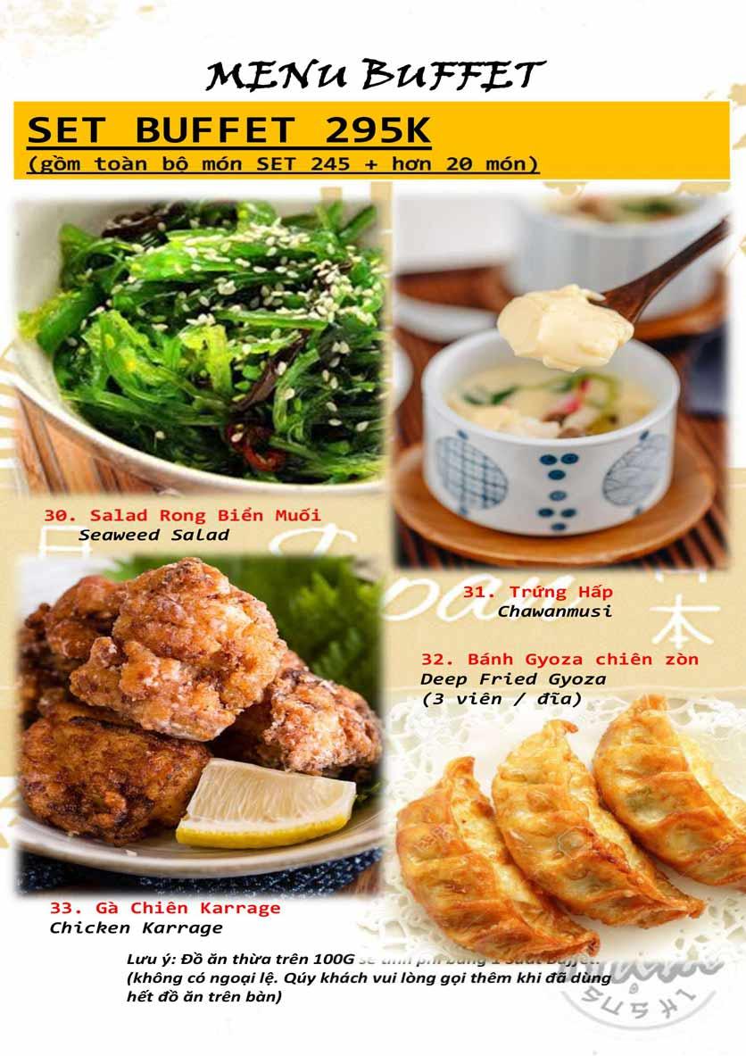 Menu Trạm Sushi - Trần Quang Diệu 7