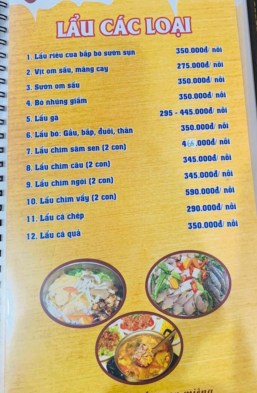 Menu Tuấn Giang – Trần Khát Chân  33