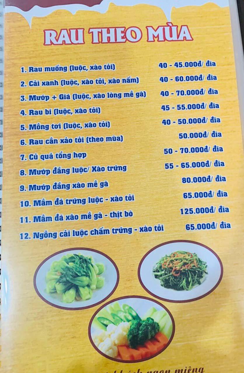 Menu Tuấn Giang – Trần Khát Chân  35