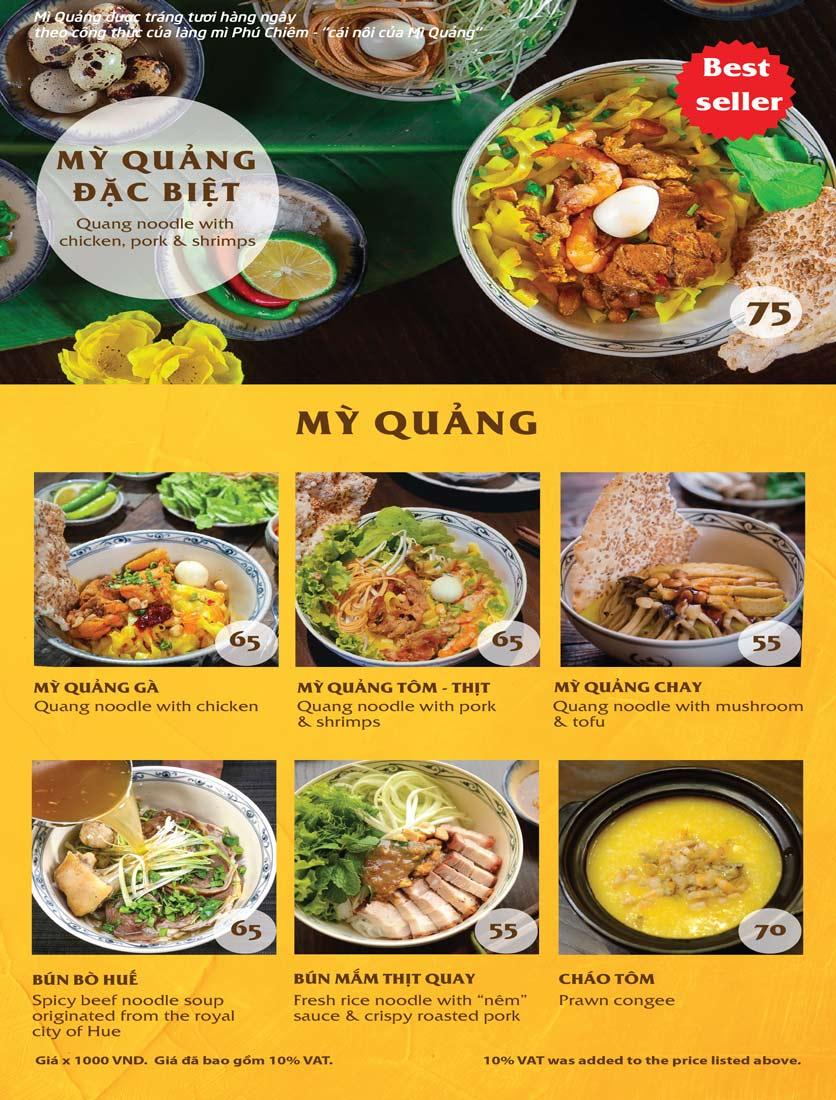 Menu Vị Quảng – Nguyễn Chí Thanh 6