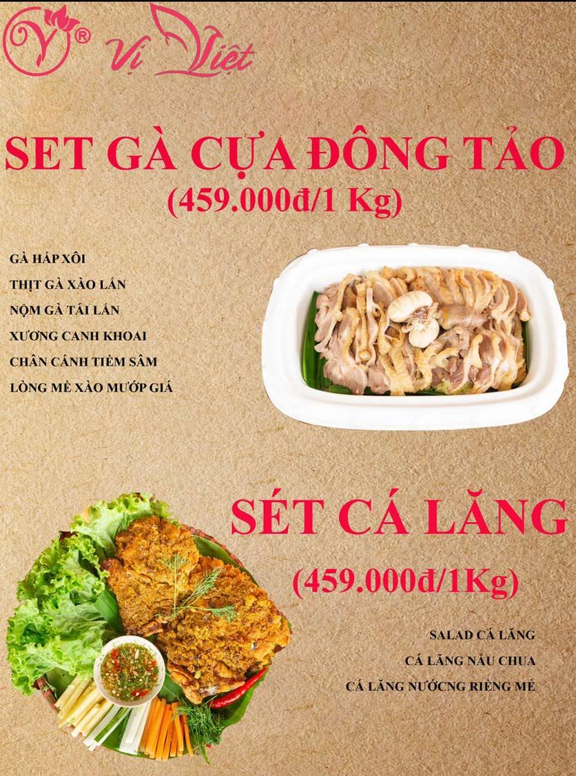 Menu Vị Việt - Huỳnh Thúc Kháng 3