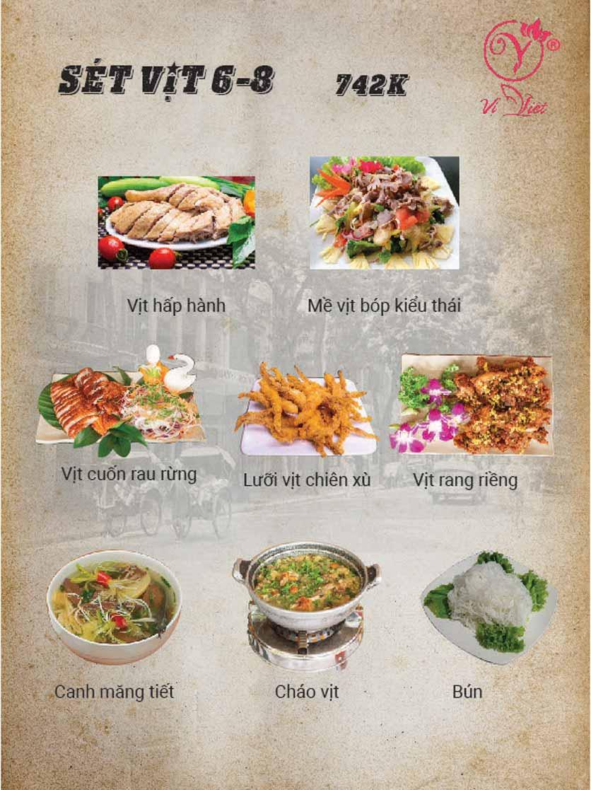 Menu Vị Việt - Huỳnh Thúc Kháng 1