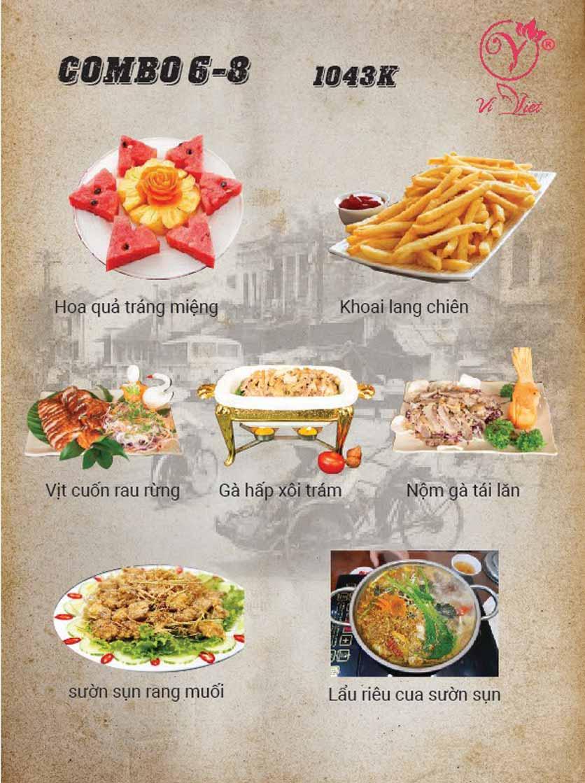 Menu Vị Việt - Huỳnh Thúc Kháng 2