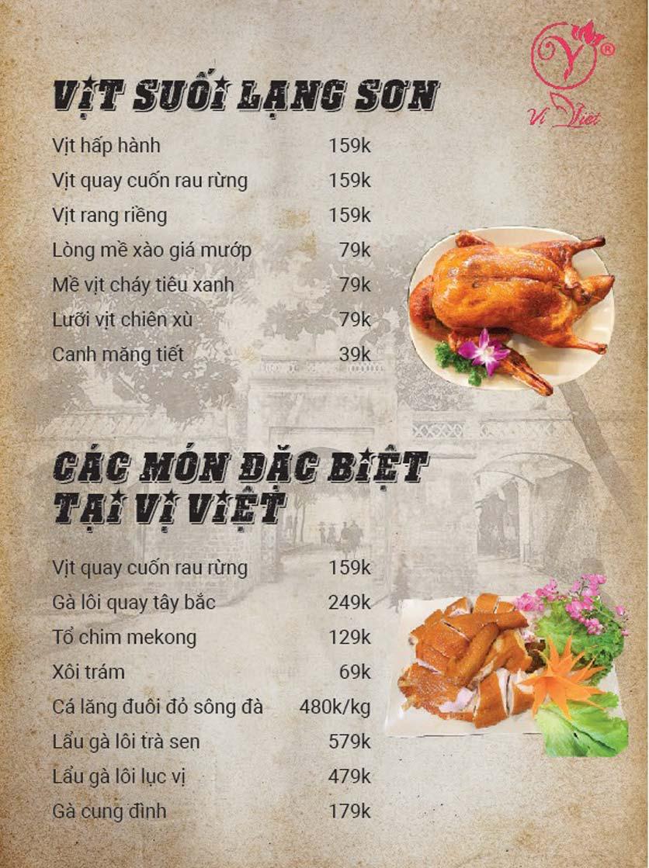 Menu Vị Việt - Huỳnh Thúc Kháng 5