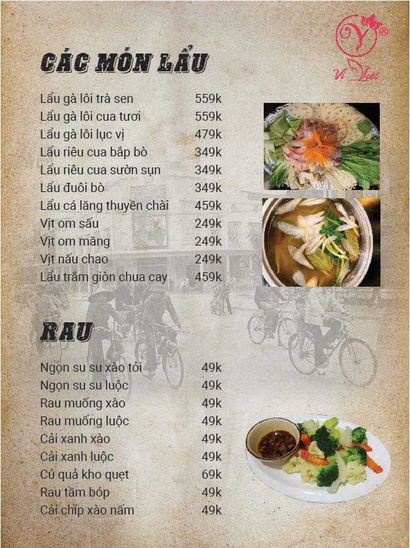 Menu Vị Việt - Huỳnh Thúc Kháng 6