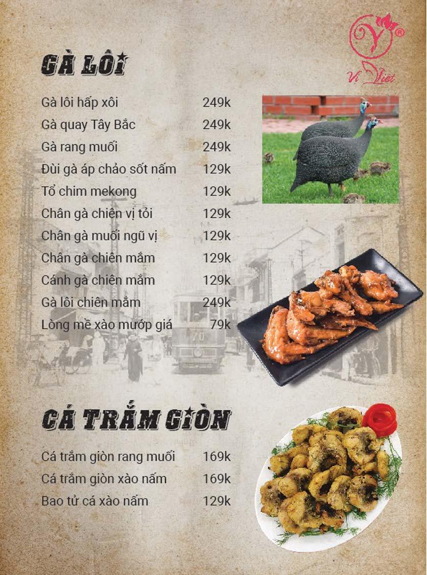 Menu Vị Việt - Huỳnh Thúc Kháng 9