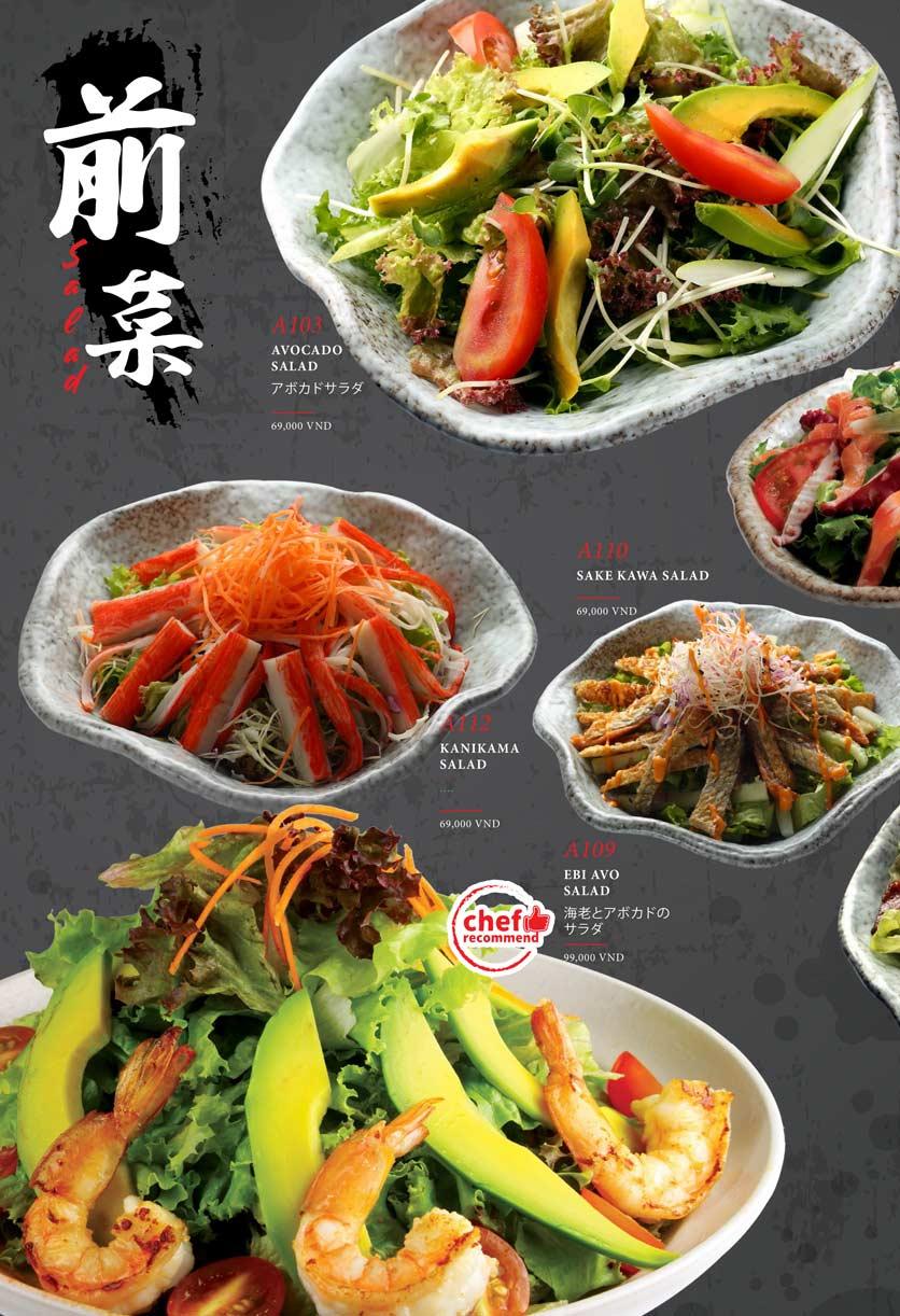 Menu Kohaku Sushi - Vincom Lê Thánh Tôn 8