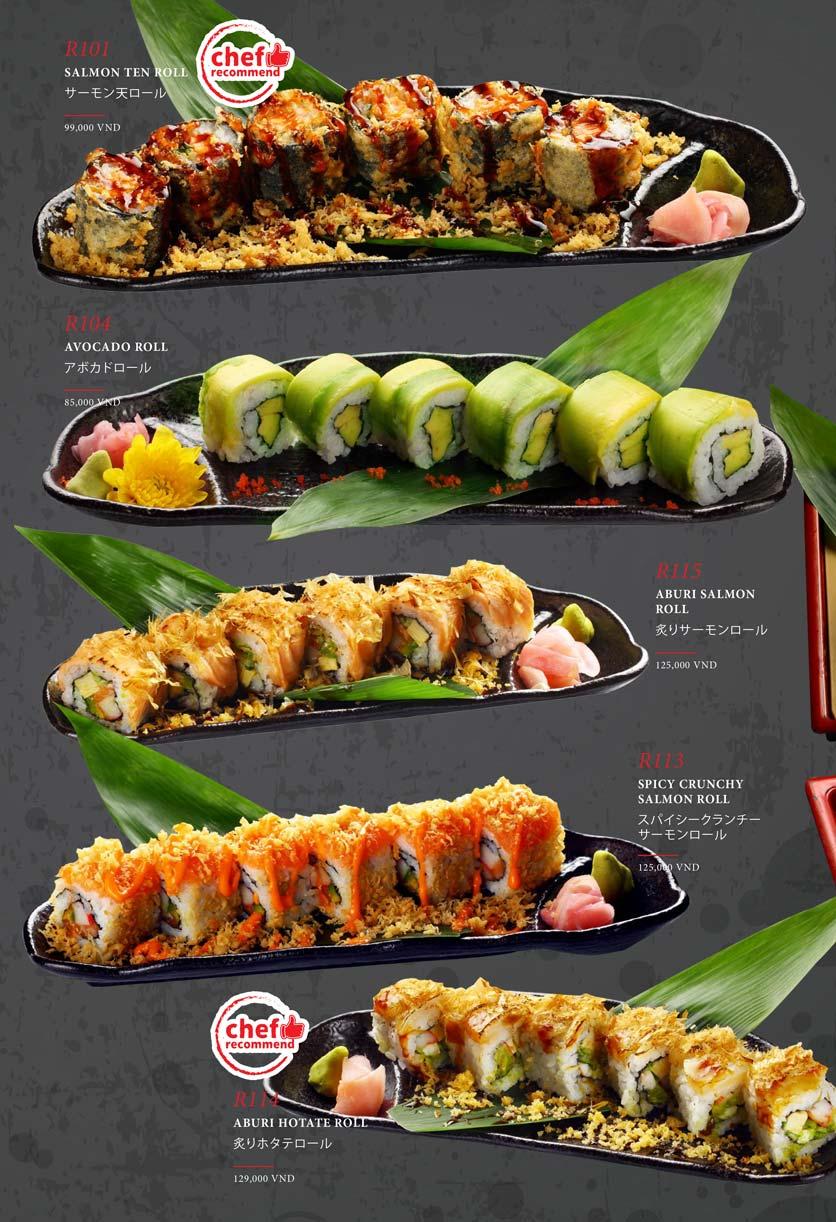 Menu Kohaku Sushi - Vincom Lê Thánh Tôn 20