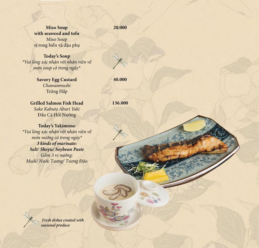 Menu Okome Sushi Bar - Nguyễn Đình Chiểu 12