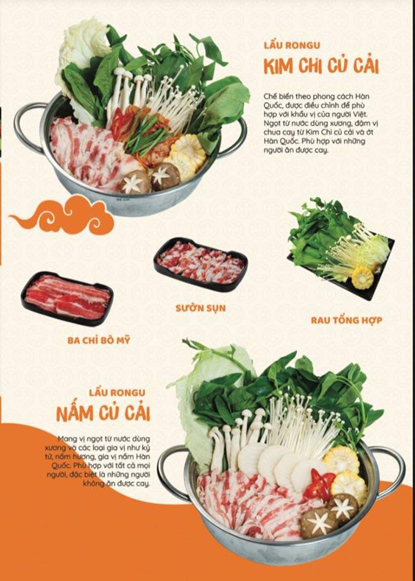 Menu Yummy - Buffet Hotpot - Xuân Thủy 2