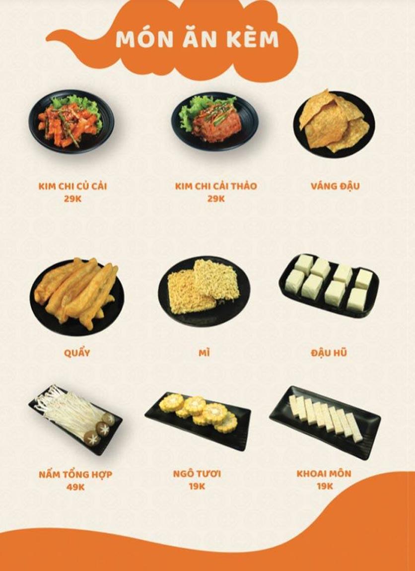 Menu Yummy - Buffet Hotpot - Xuân Thủy 4
