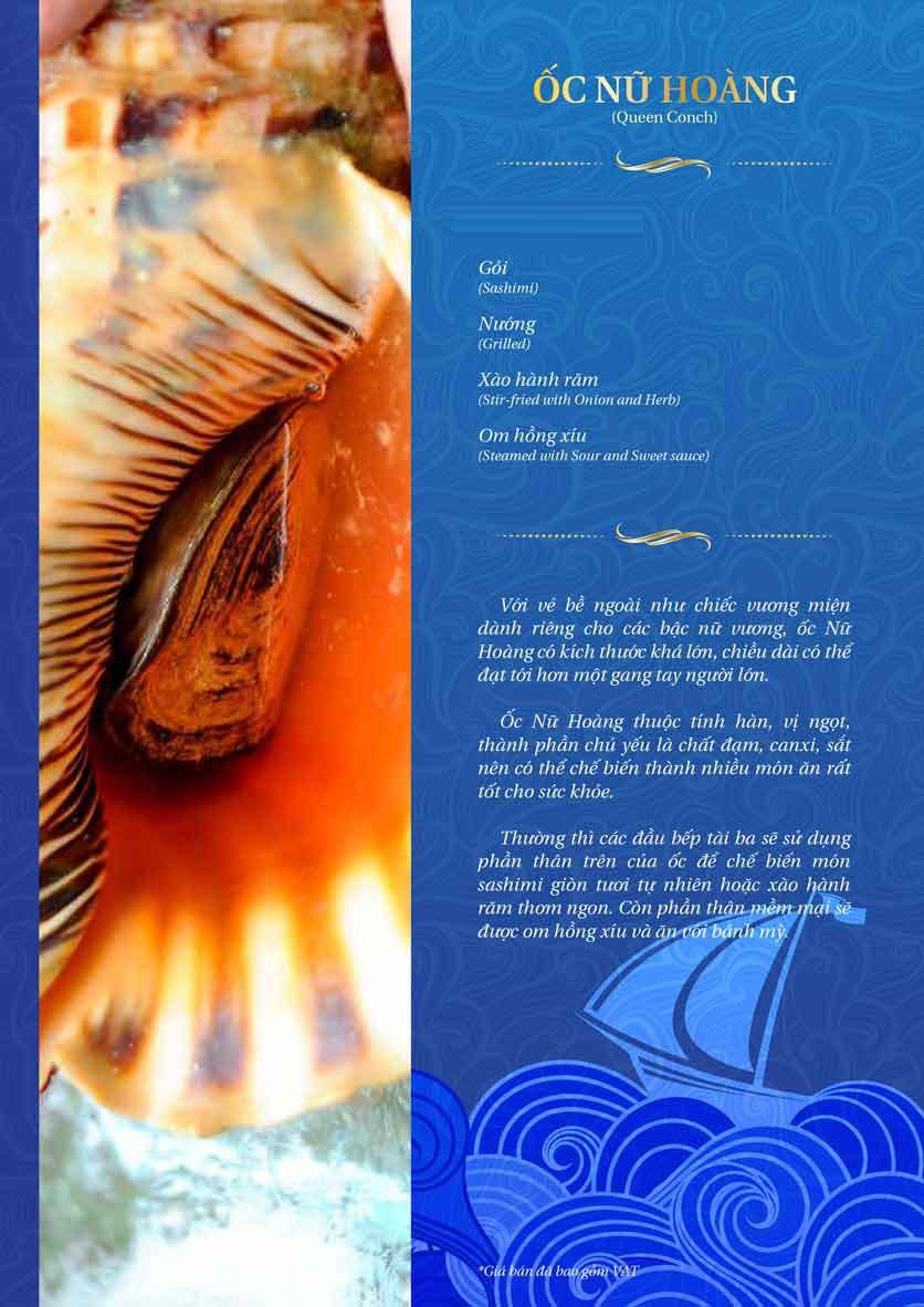 Menu Thế Giới Hải Sản – Pasteur 10