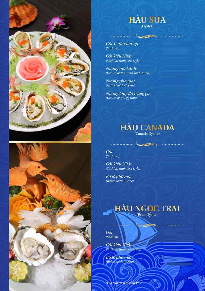 Menu Thế Giới Hải Sản - Thái Thịnh 12